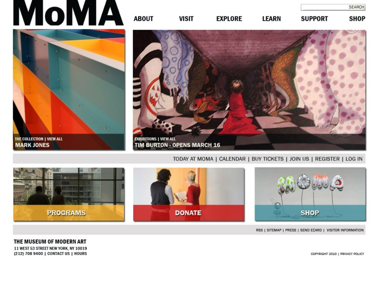 moma.org redesign comp